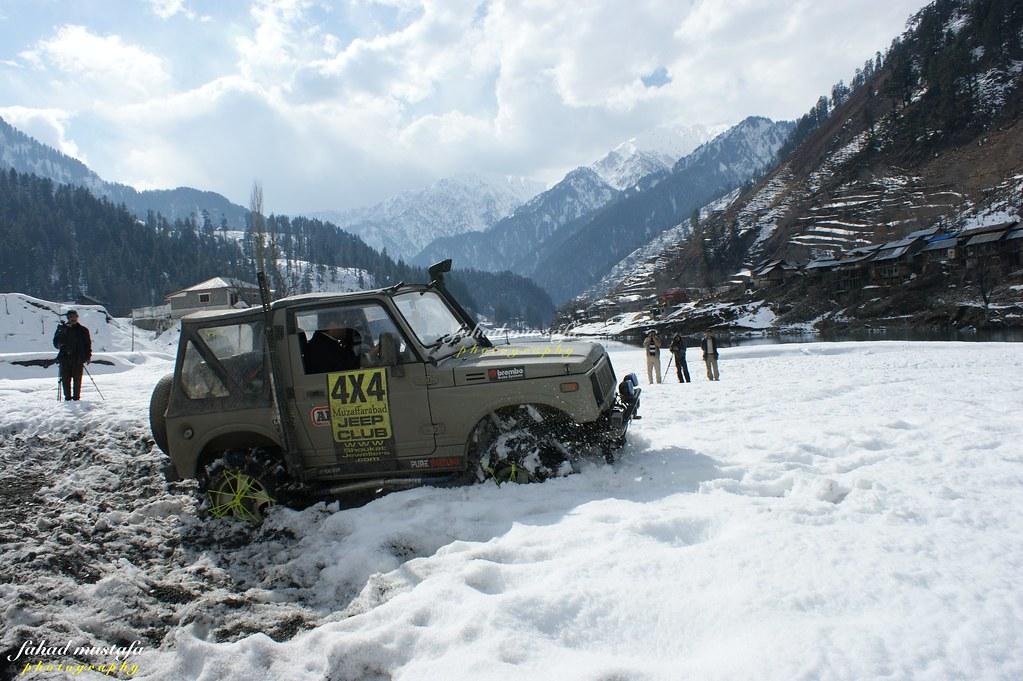 Muzaffarabad Jeep Club Neelum Snow Cross - 8470726755 b93601a23d b