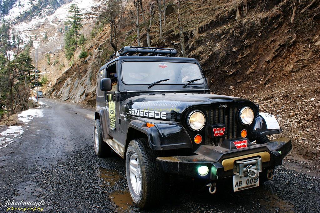 Muzaffarabad Jeep Club Neelum Snow Cross - 8471926634 d8e3067712 b