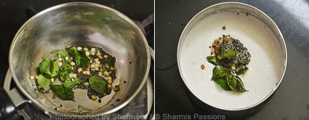 How to make coconut chutney - Step2