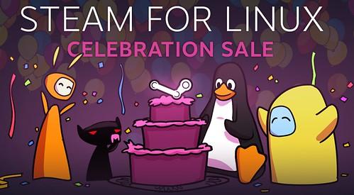 Linuxos játékok vására a Steam-en