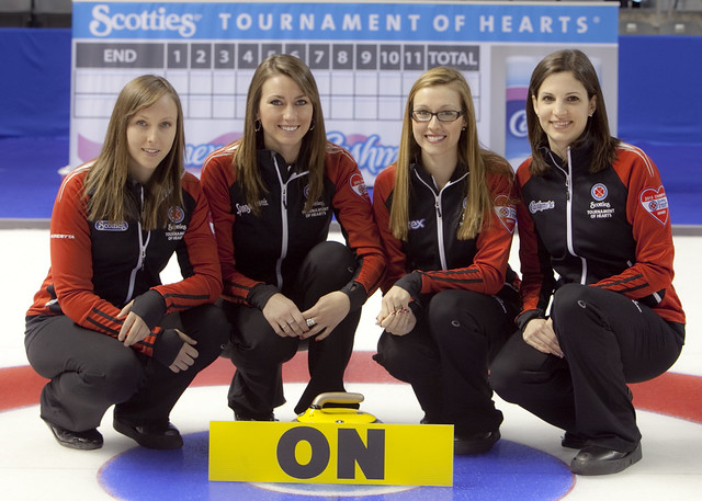 The 2013 Scotties Tournament of Hearts, February 16-24, KingstonThe 2013 Scotties Tournament of Hearts, February 16-24, Kingston Onatrio