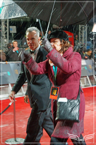 The Establishing Shot: EE BAFTAs RED CARPET DANIEL DAY-LEWIS ARRIVES LINCOLN by Craig Grobler