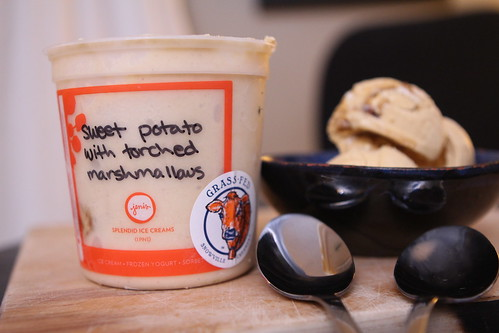 Jeni's Splendid Ice Creams Sweet Potato with Torched Marshmallows