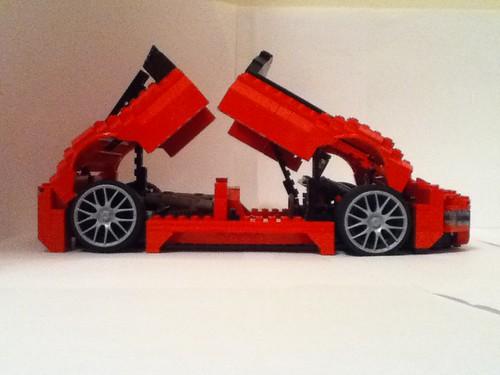 Lego Maserati Birdcage 75th