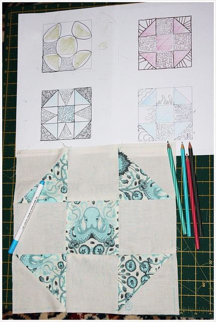 QAL quilting