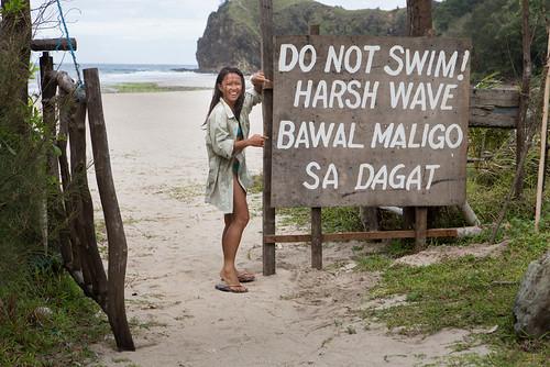 Dicasalarin Cove, Baler Philippines