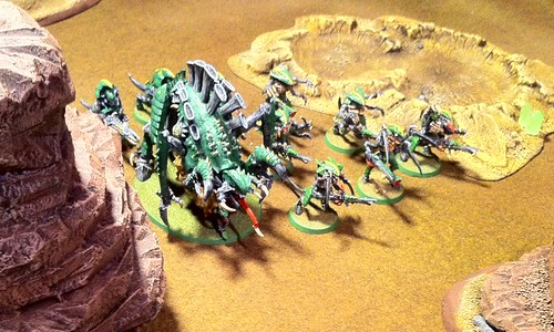 Tyler's Tervigon & Tyranid Warriors