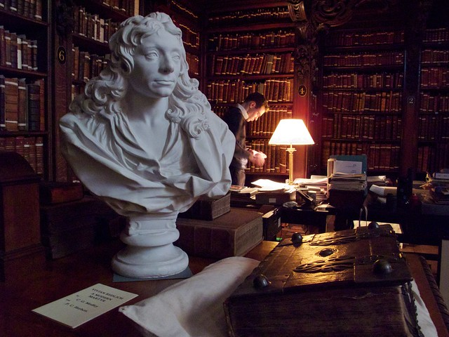 Bust of Wren, St. Paul's Library