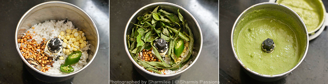 Curry Leaves Chutney Recipe - Step2