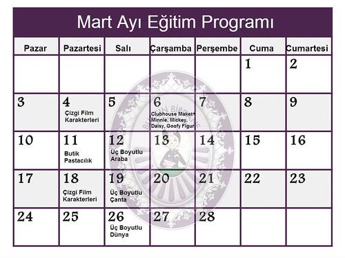 Egitim Programi Mart