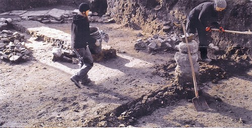 Ausgrabung an der Hellingsmauer