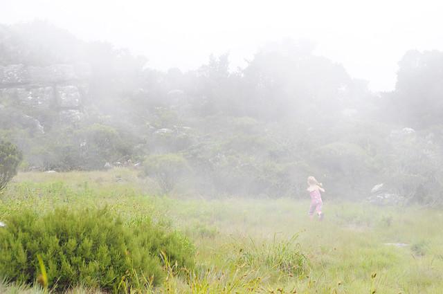 she starts her run