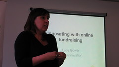 Lucy Gower, innovating with online fundraising