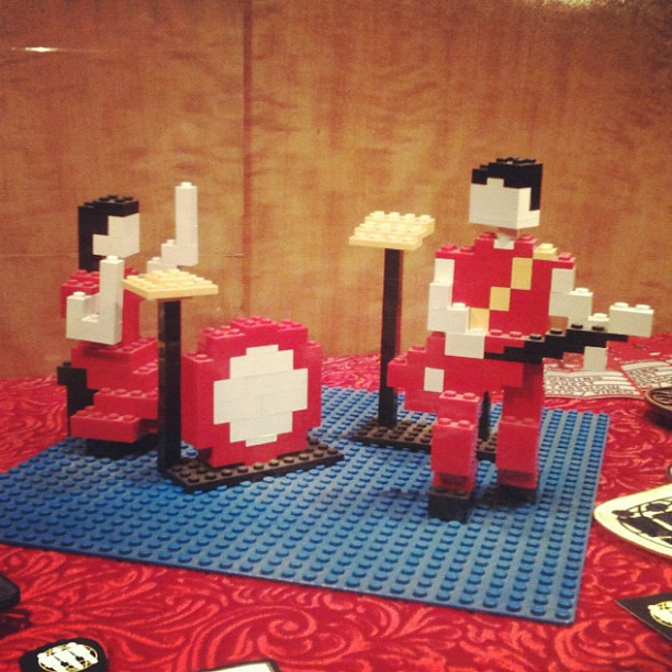Fell in Love With a Girl Legos at Third Man Records in Nashville, TN | PopArtichoke