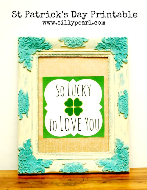 St Patricks Day Printable - The Silly Pearl