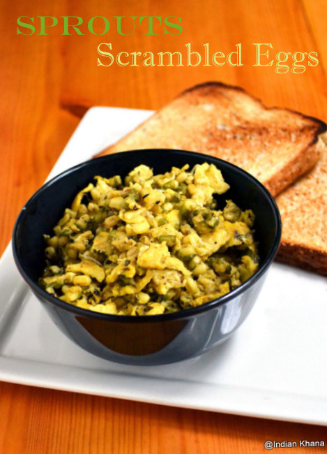 Sprouts Scrambled Eggs