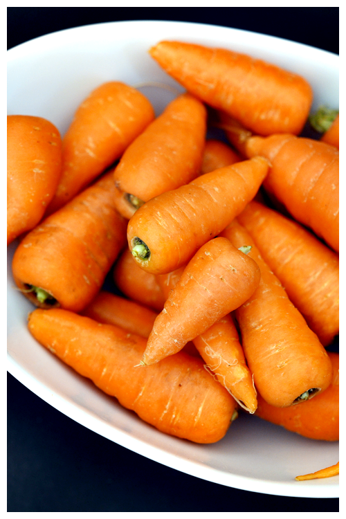 Chantenay carrots© by haalo