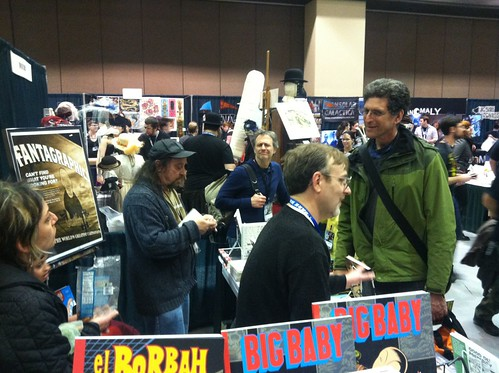 Fantagraphics booth at Emerald City ComicCon