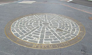 Image of Boston Massacre Site. boston circle freedomtrail bostonmassacre americanhistory march51770