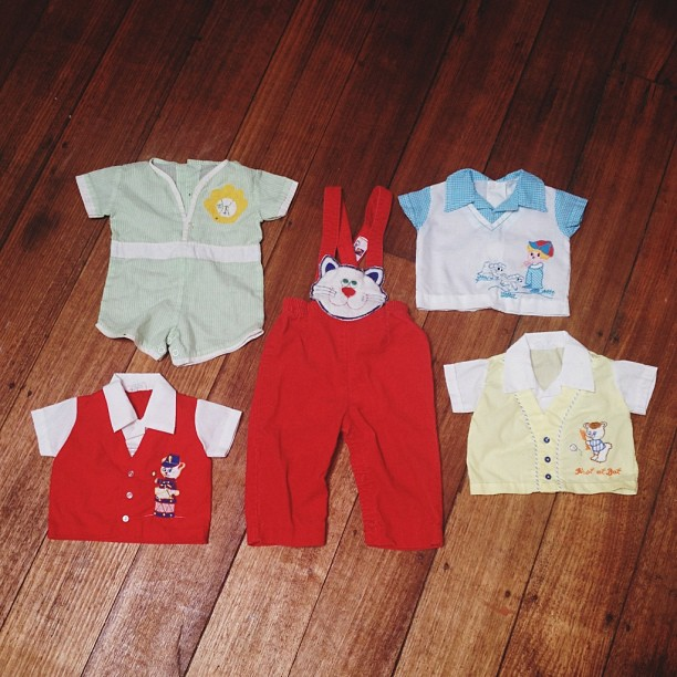 Cute baby clothes from Etsy.
