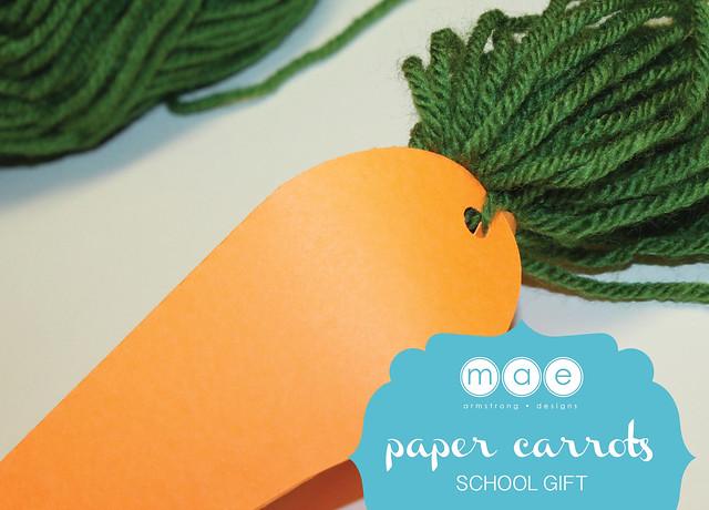 Paper Carrots - School Gift8