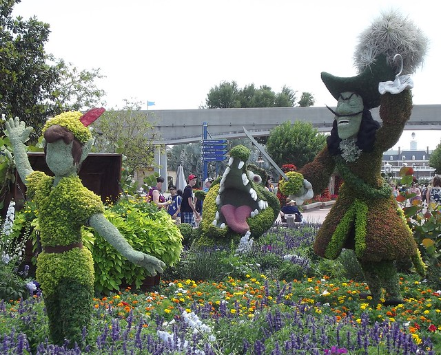 EPCOT Hook & Peter Pan