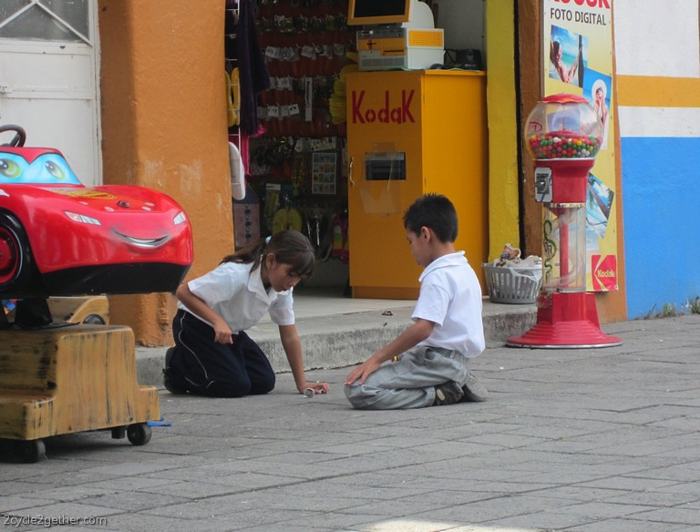 Kids Playing in Chapala