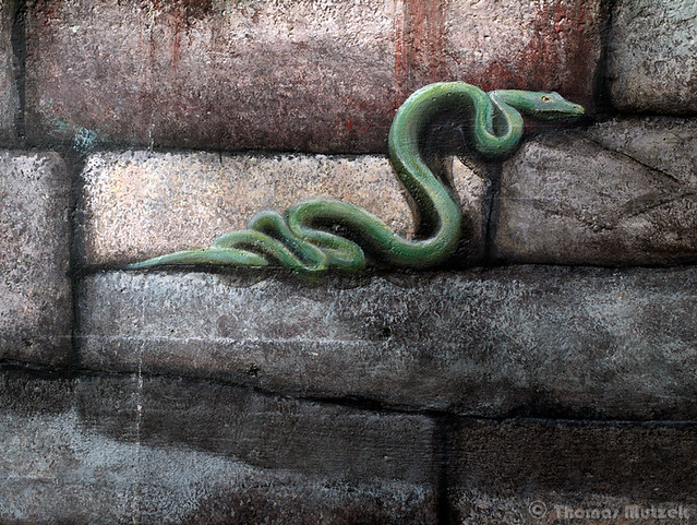 Snake Mural at the San Francisco Zoo