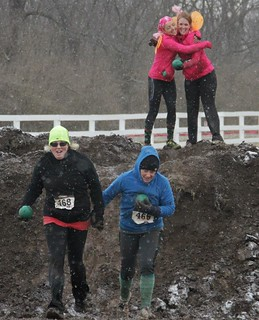 People from all around Kentucky participated in the first of five mud runs in the bluegrass sponsored by the Kentucky National Guard at Kentucky Horse Park in Lexington, Ky., March 2 braving freezing temperatures, snow, wind and of course...mud.