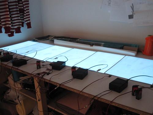 EL panel/wire inverter hack