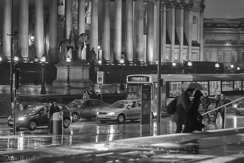 Rush Hour on Lime Street, Liverpool