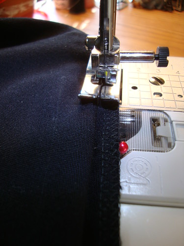 Blind hemming....