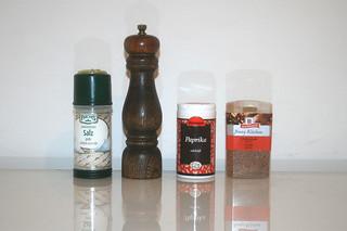 08 - Zutat Gewürze / Ingredient spices