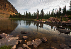 dawn - Murdock Basin - Uinta Mountains - 7-24-09  04