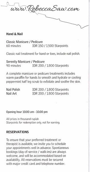 Serenity Spa - Le Meridien Bali 4
