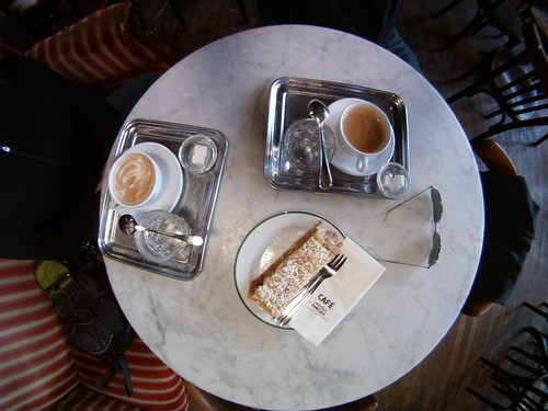 coffees on table, Vienna