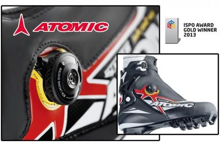 Boty Atomic Race Skate - DON´T LACE, JUST RACE