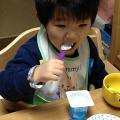 朝御飯とらちゃん 2013/3/15
