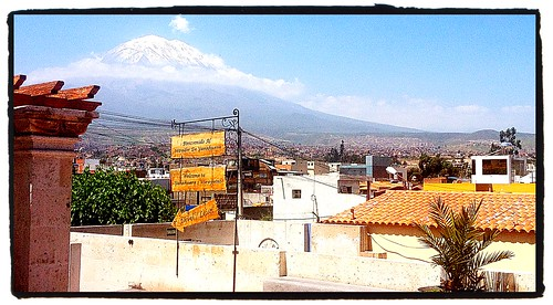View of Misty on a Clear Day in Arequipa by tf_82