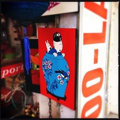 Spotted...Tintin spotting a clue! | #art #tintin #instaart #comic #heritagewalk #instaweekend #vietnam #hanoi #alfmvietnam