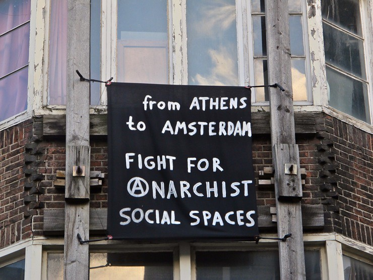 From Athens to Amsterdam, fight for anarchist social spaces