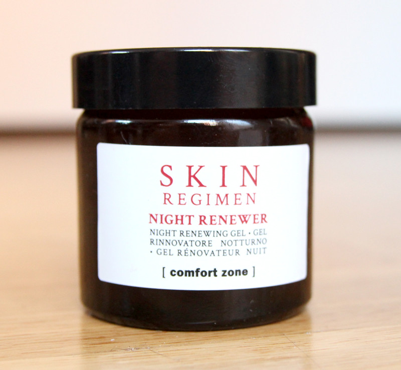 comfort zone skin regimen night renewer