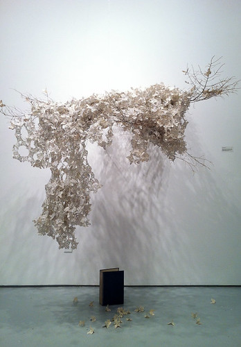 Paper Installation by Rosemary Burden