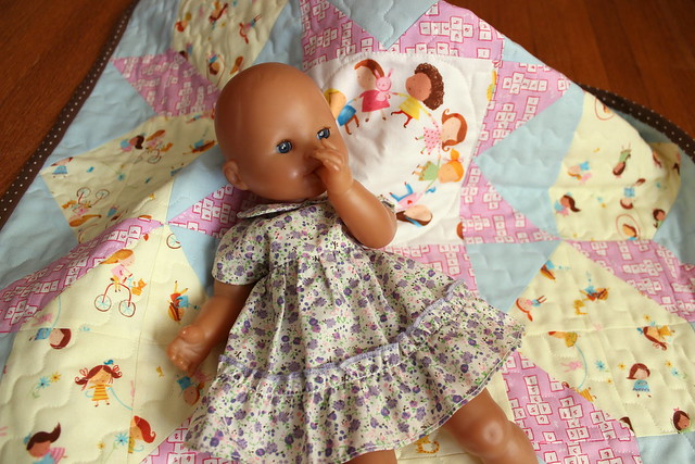 doll + quilt