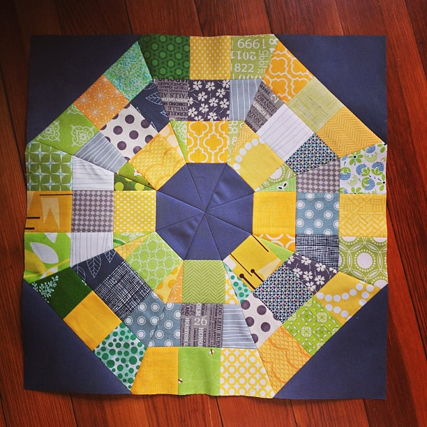 Fun to make, just don't look too closely @shecanquilt ! #ABL