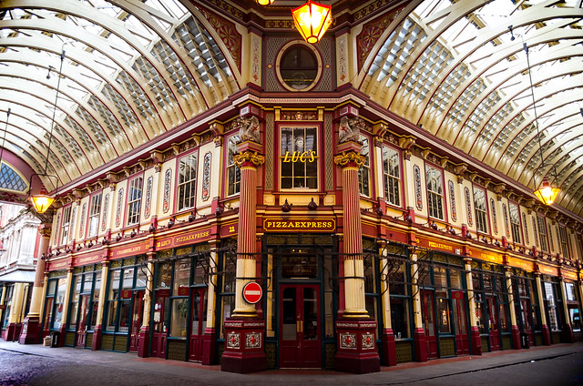 Shops in Leadenhall Market
