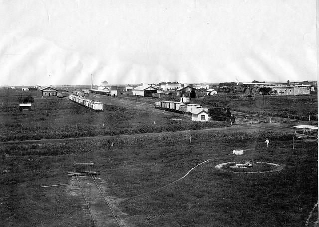 Estacion Rufino, BAP Buenos Aires al Pacifico - Año: 1905