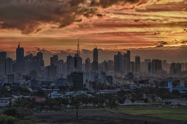 View from Manila Sofitel 2