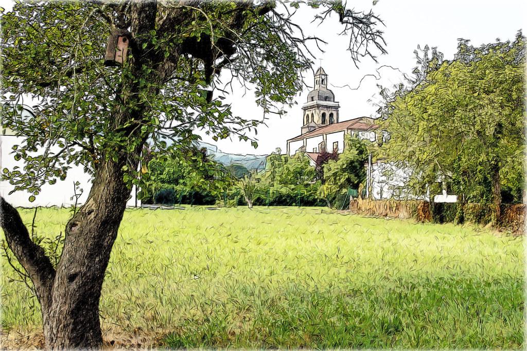 por el valle de Liendo en Cantabria