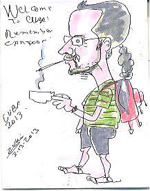 cuba-extra caricature chris